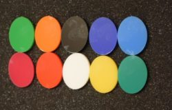 Acrylic Colour Chart - Acrylic Solid Colour Choice