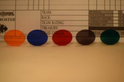 Acrylic Colour Chart - Acrylic Transparent Colour Choice